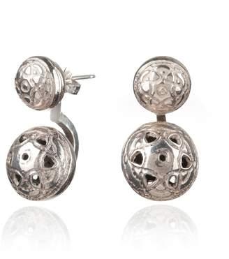 Maro - Silver Byzantine Twin Ear Jackets
