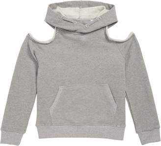AG Adriano Goldschmied kids Emma Cold Shoulder Hoodie