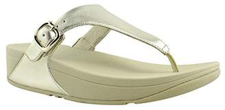 FitFlop Women's The Skinny Leather Toe-Thong Sandals