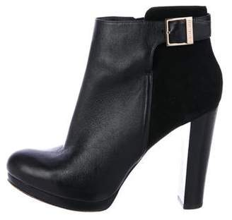 MICHAEL Michael Kors Leather Ankle Booties