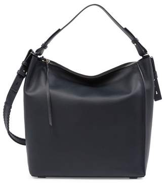 AllSaints Kita Large North/South Leather Tote