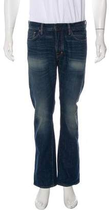 Tom Ford Five-Pocket Straight-Leg Jeans