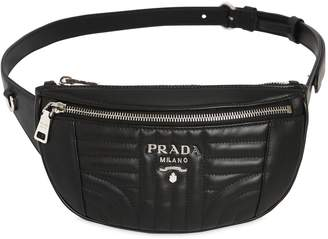 Prada Small Quilted Soft Leather Belt Pack