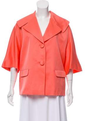 Barneys New York Barney's New York Linen Short Sleeve Jacket w/ Tags