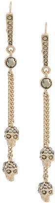 Alexander McQueen thin orecchinichain earrings