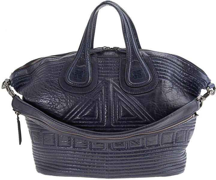 Givenchy Medium Couture Padded Nightingale - Blue