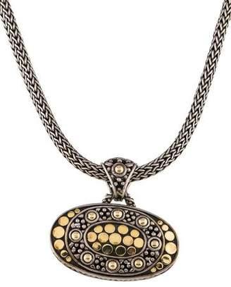John Hardy Oval Jaisalmer Pendant Necklace