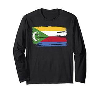 Comoros Comoran Flag Longsleeve Pullover