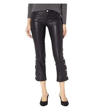268c8d4350a47 Blank NYC The Varick Vegan Leather Pant in Daddy Soda