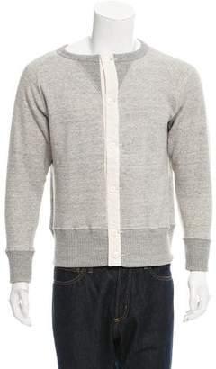 Haver Sack Crew Neck Cardigan Sweatshirt