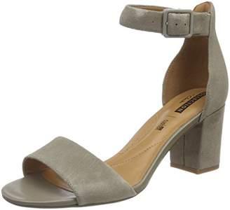 Clarks Women''s Deva Mae Ankle Strap Sandals