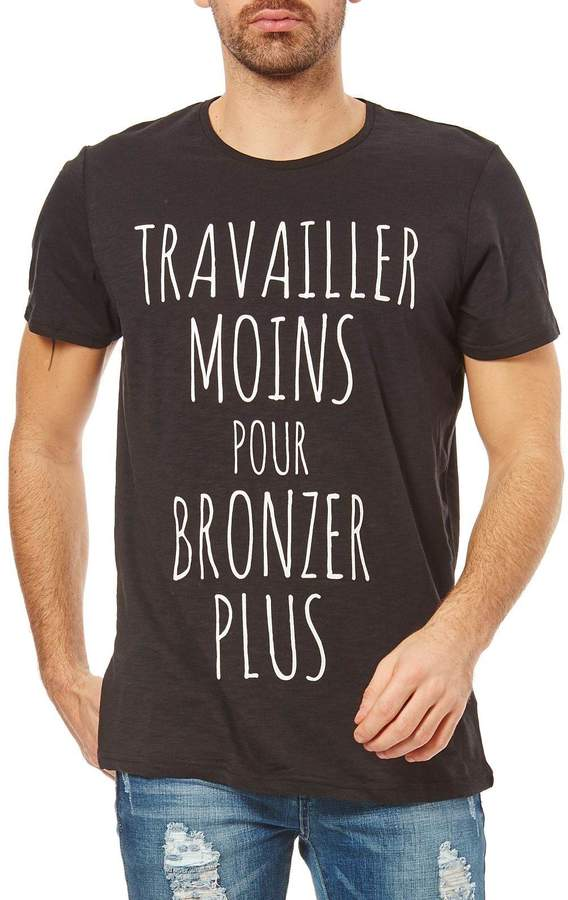 Kurzärmeliges T-Shirt - schwarz