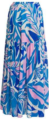 Emilio Pucci Rustic Cotton Maxi Skirt