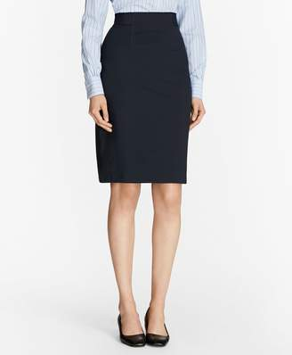 Brooks Brothers Ponte Pencil Skirt