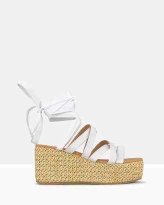 betts Chatter Strappy Wedge Sandals