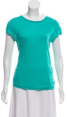 Alice + Olivia Short Sleeve Scoop Neck T-Shirt