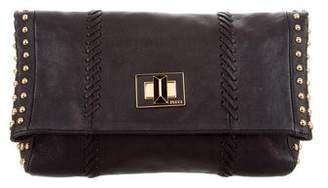 Emilio Pucci Studded Fold-Over Clutch