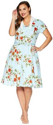 Unique Vintage Plus Size Campbell Swing Dress Women's Dress