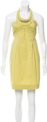 Philosophy di Alberta Ferretti Mini Halter Dress