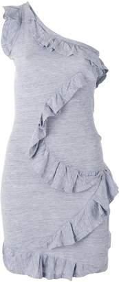DSQUARED2 one-shoulder ruffle dress