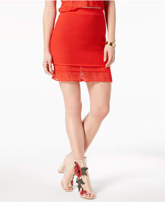 Moon River Pull-On Sweater Skirt