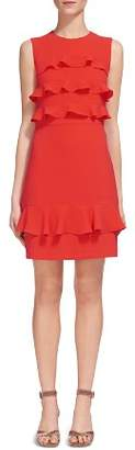 Whistles Bea Tiered Ruffled Dress