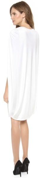 Giambattista Valli Sleeveless Cape Dress