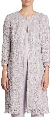 St. John Women's Lace A-Line Jacket