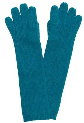 Portolano Cashmere Rib-Knit Gloves w/ Tags