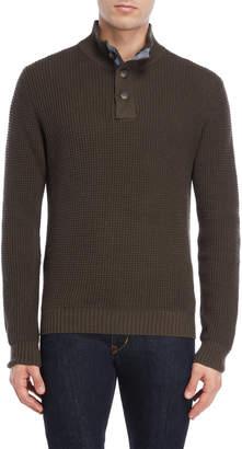 Weatherproof Vintage Tuck Stitch Pullover Sweater