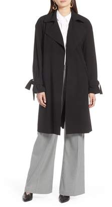 Halogen Lightweight Trench Coat