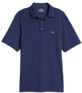 Vineyard Vines Tempo Regular Fit Sankaty Performance Pique Polo