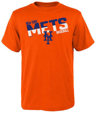 Outerstuff New York Mets All Meshed Up T-Shirt, Big Boys (8-20)