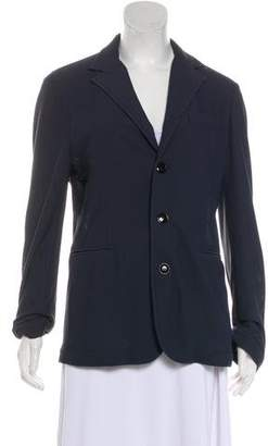 Giorgio Armani Textured Button-Up Blazer