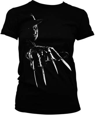 Freddy Nightmare On Elm Street Officially Licensed Merchandise Krueger Girly Tee