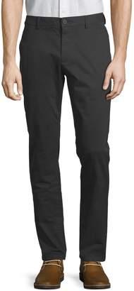 Black Brown 1826 Stretch Twill Chino Pants