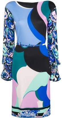 Emilio Pucci printed belted dress