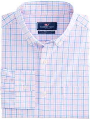 Vineyard Vines Windowpane Check Classic Murray Shirt