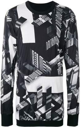 11 By Boris Bidjan Saberi reversible long-sleeved top