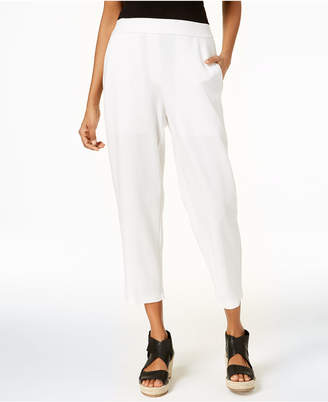 Eileen Fisher Tencel® Ponte Cropped Trousers