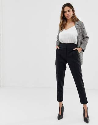 Oasis high waisted belted pants