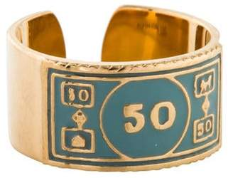 Alison Lou 14K Monopoly Stackable $50 Ring