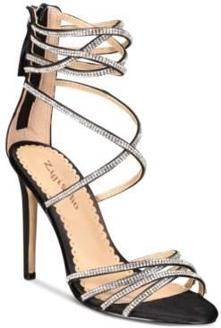 f80b399e4e9 Zigi Ziginy Bernadette Strappy Embellished Dress Sandals Women s Shoes