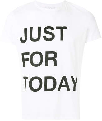 Ermanno Scervino Just For Today T-shirt