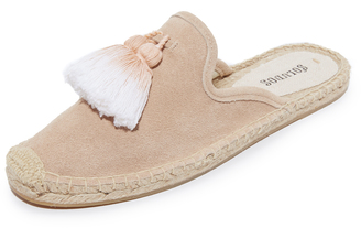 Soludos Tassel Mules $79 thestylecure.com