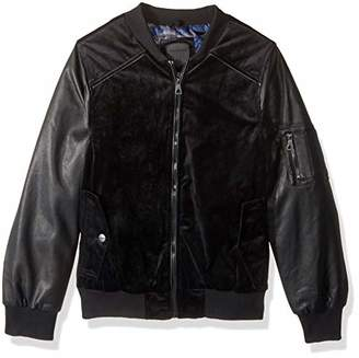 Urban Republic Mens Woven Velvet Jacket