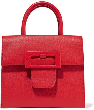 Maison Margiela - Buckle Textured-leather Tote - one size $3,140 thestylecure.com