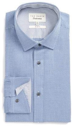 Ted Baker Slim Fit Geometric Dress Shirt