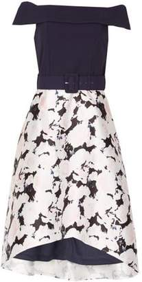 Dorothy Perkins Womens *Izabel London Navy Floral 2-In-1 Dress