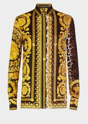 Versace Wild Baroque SS'92 Print Shirt